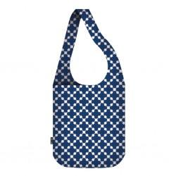 Ostukott Crossbody Bag Blue Squares