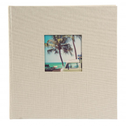 Fotoalbum klassikalise musta lehega 30x31cm  Bella Vista 31.7230